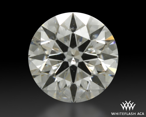0.717 ct E SI2 A CUT ABOVE® Hearts and Arrows Super Ideal Round Cut Loose Diamond