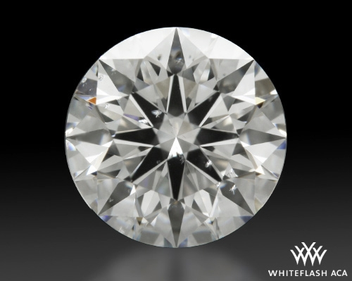 1.084 ct G SI2 A CUT ABOVE® Hearts and Arrows Super Ideal Round Cut Loose Diamond
