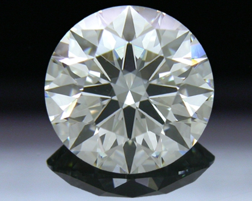 1.498 ct J VS1 A CUT ABOVE® Hearts and Arrows Super Ideal Round Cut Loose Diamond