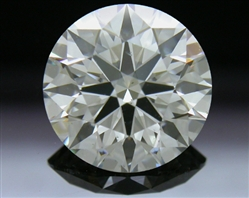 1.261 ct I SI1 A CUT ABOVE® Hearts and Arrows Super Ideal Round Cut Loose Diamond