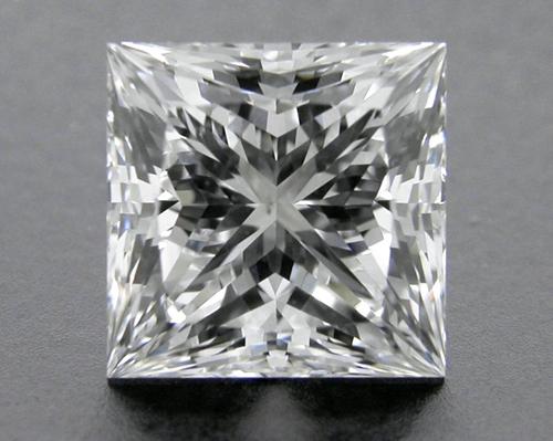 1.613 ct E SI1 A CUT ABOVE® Princess Super Ideal Cut Diamond