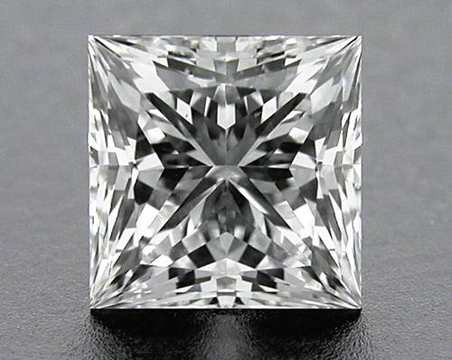 0.742 ct G SI1 A CUT ABOVE® Princess Super Ideal Cut Diamond