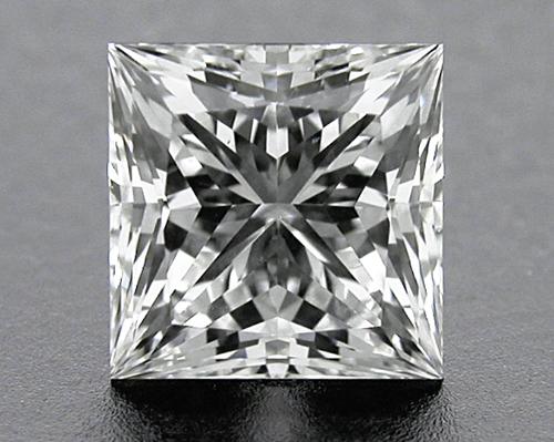 0.742 ct G SI1 A CUT ABOVE® Princess Super Ideal Cut Diamond