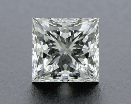 0.722 ct G SI1 A CUT ABOVE® Princess Super Ideal Cut Diamond