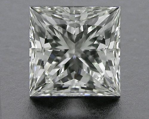 0.763 ct I SI1 A CUT ABOVE® Princess Super Ideal Cut Diamond