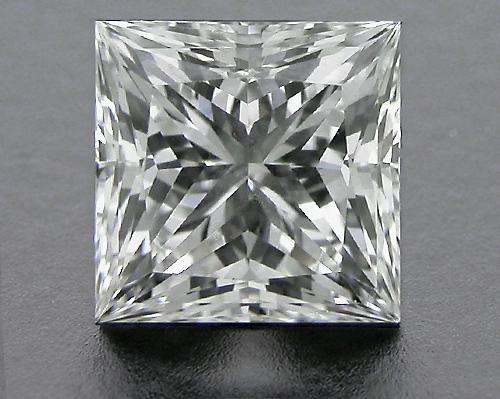 0.736 ct H VS2 A CUT ABOVE® Princess Super Ideal Cut Diamond