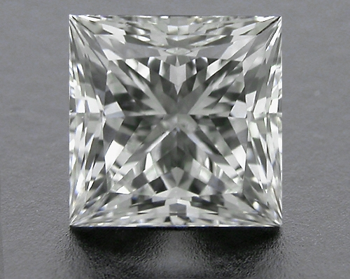 0.74 ct H SI1 A CUT ABOVE® Princess Super Ideal Cut Diamond