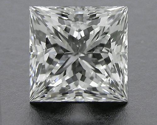 0.853 ct H SI1 A CUT ABOVE® Princess Super Ideal Cut Diamond