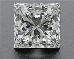 0.853 ct H SI1 A CUT ABOVE® Princess Super Ideal Cut Diamond