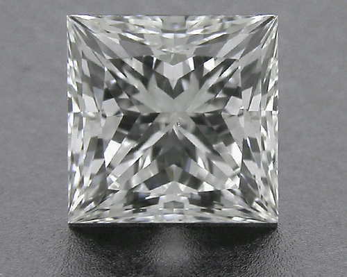 0.716 ct G VS2 A CUT ABOVE® Princess Super Ideal Cut Diamond