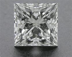 0.716 ct G VS2 A CUT ABOVE® Princess Super Ideal Cut Diamond