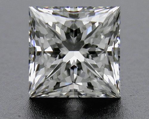 0.755 ct G VS2 A CUT ABOVE® Princess Super Ideal Cut Diamond