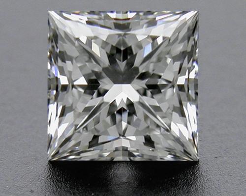 0.755 ct G VS2 A CUT ABOVE® Princess Super Ideal Cut Diamond