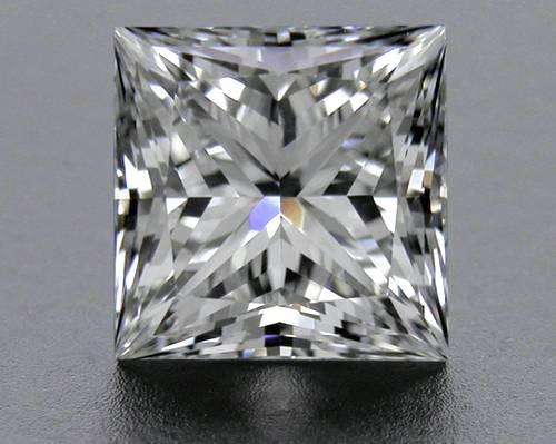 1.047 ct F VS2 A CUT ABOVE® Princess Super Ideal Cut Diamond