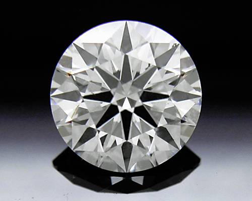 0.928 ct F SI1 A CUT ABOVE® Hearts and Arrows Super Ideal Round Cut Loose Diamond