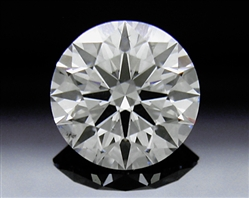 0.935 ct F SI1 A CUT ABOVE® Hearts and Arrows Super Ideal Round Cut Loose Diamond