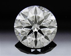 0.912 ct H VS1 A CUT ABOVE® Hearts and Arrows Super Ideal Round Cut Loose Diamond