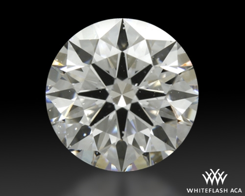 0.721 ct D SI2 A CUT ABOVE® Hearts and Arrows Super Ideal Round Cut Loose Diamond