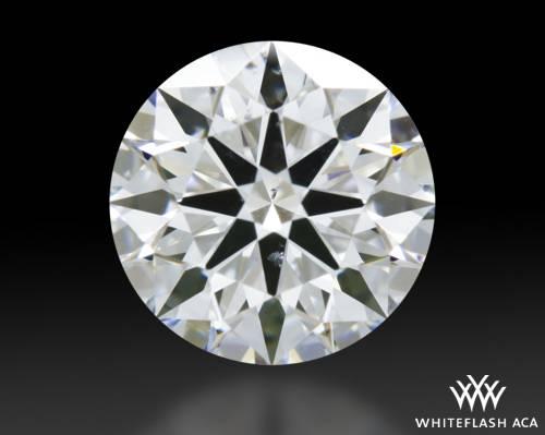 0.714 ct E SI1 A CUT ABOVE® Hearts and Arrows Super Ideal Round Cut Loose Diamond