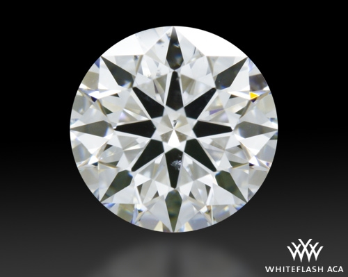 0.714 ct E SI1 A CUT ABOVE® Hearts and Arrows Super Ideal Round Cut Loose Diamond