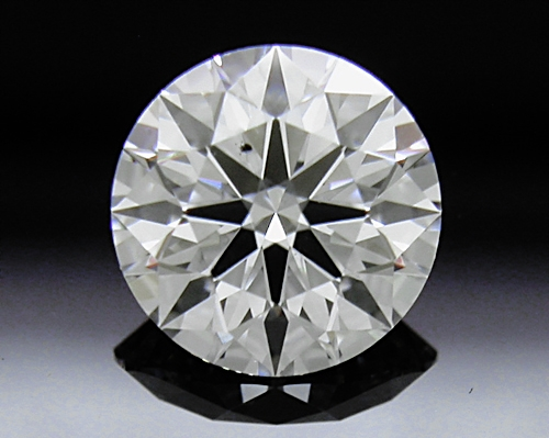 0.71 ct E SI1 A CUT ABOVE® Hearts and Arrows Super Ideal Round Cut Loose Diamond