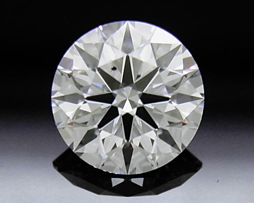 0.71 ct E SI1 A CUT ABOVE® Hearts and Arrows Super Ideal Round Cut Loose Diamond