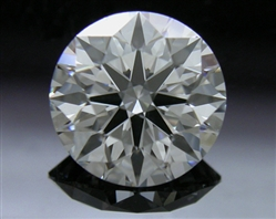 0.741 ct F VS1 A CUT ABOVE® Hearts and Arrows Super Ideal Round Cut Loose Diamond