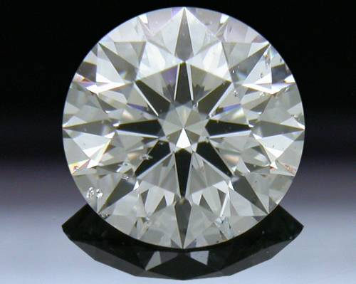 0.723 ct F SI2 A CUT ABOVE® Hearts and Arrows Super Ideal Round Cut Loose Diamond