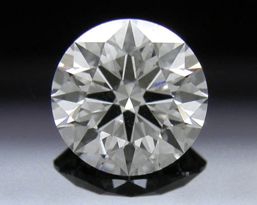 0.803 ct F SI2 A CUT ABOVE® Hearts and Arrows Super Ideal Round Cut Loose Diamond