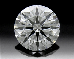 0.706 ct H SI1 A CUT ABOVE® Hearts and Arrows Super Ideal Round Cut Loose Diamond
