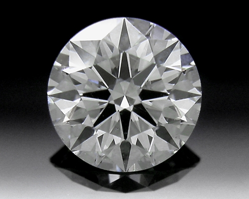 0.745 ct I SI1 A CUT ABOVE® Hearts and Arrows Super Ideal Round Cut Loose Diamond