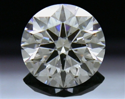 0.866 ct H SI2 A CUT ABOVE® Hearts and Arrows Super Ideal Round Cut Loose Diamond