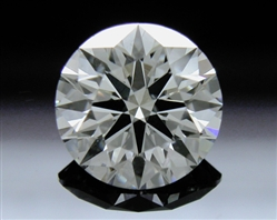 0.758 ct I SI1 A CUT ABOVE® Hearts and Arrows Super Ideal Round Cut Loose Diamond