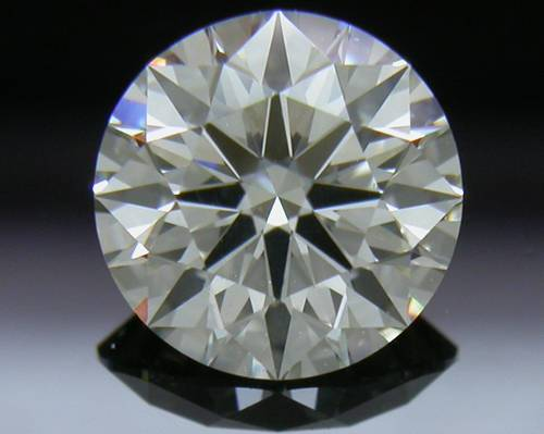 0.73 ct J SI1 A CUT ABOVE® Hearts and Arrows Super Ideal Round Cut Loose Diamond