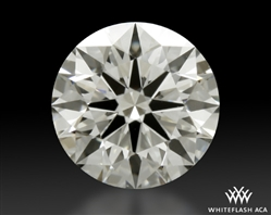 0.738 ct J VS2 A CUT ABOVE® Hearts and Arrows Super Ideal Round Cut Loose Diamond