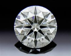 0.55 ct E SI1 A CUT ABOVE® Hearts and Arrows Super Ideal Round Cut Loose Diamond