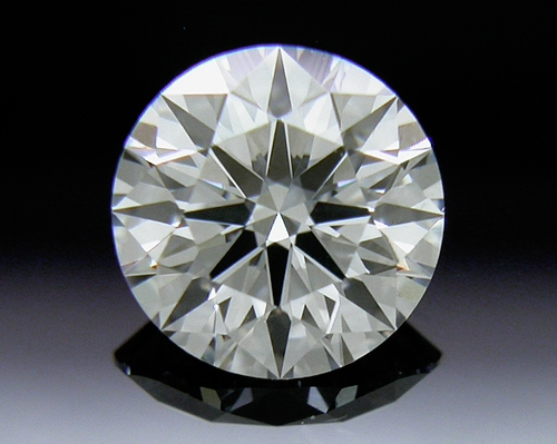 0.515 ct E VS2 A CUT ABOVE® Hearts and Arrows Super Ideal Round Cut Loose Diamond