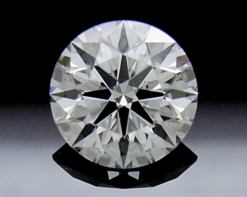 0.551 ct F SI2 A CUT ABOVE® Hearts and Arrows Super Ideal Round Cut Loose Diamond