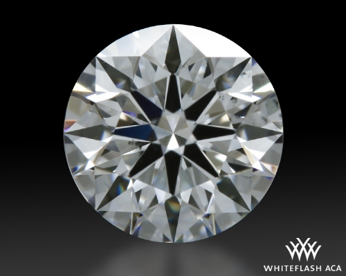 0.534 ct E SI1 A CUT ABOVE® Hearts and Arrows Super Ideal Round Cut Loose Diamond