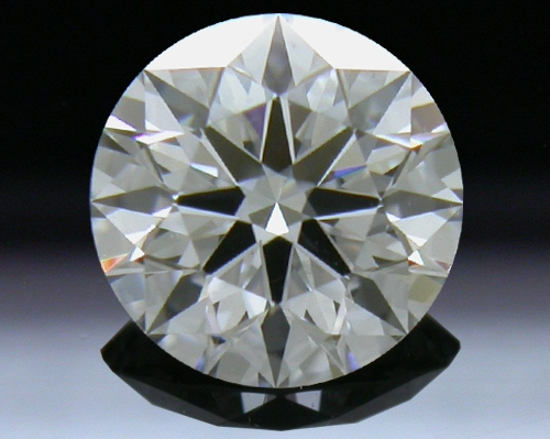 0.585 ct F VS2 A CUT ABOVE® Hearts and Arrows Super Ideal Round Cut Loose Diamond
