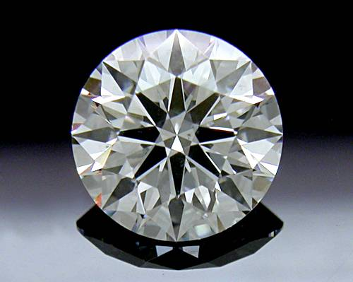 0.552 ct F SI1 A CUT ABOVE® Hearts and Arrows Super Ideal Round Cut Loose Diamond
