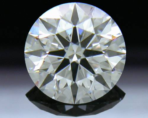 0.525 ct F SI1 A CUT ABOVE® Hearts and Arrows Super Ideal Round Cut Loose Diamond
