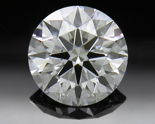 0.656 ct H VS1 A CUT ABOVE® Hearts and Arrows Super Ideal Round Cut Loose Diamond