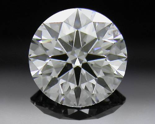 0.54 ct F SI1 A CUT ABOVE® Hearts and Arrows Super Ideal Round Cut Loose Diamond