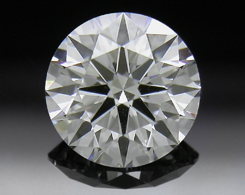 0.53 ct G SI1 A CUT ABOVE® Hearts and Arrows Super Ideal Round Cut Loose Diamond