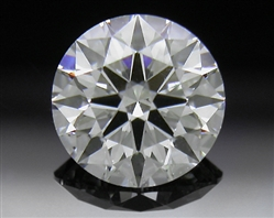 0.611 ct F SI1 A CUT ABOVE® Hearts and Arrows Super Ideal Round Cut Loose Diamond