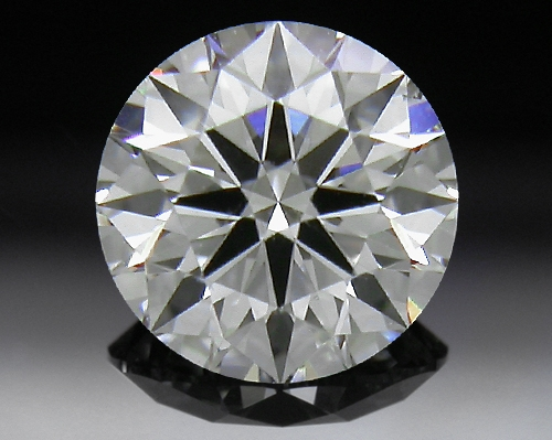 0.531 ct G SI1 A CUT ABOVE® Hearts and Arrows Super Ideal Round Cut Loose Diamond