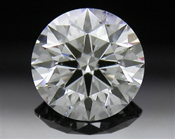 0.58 ct H SI2 A CUT ABOVE® Hearts and Arrows Super Ideal Round Cut Loose Diamond