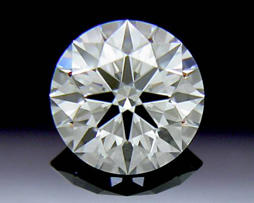 0.531 ct I SI1 A CUT ABOVE® Hearts and Arrows Super Ideal Round Cut Loose Diamond