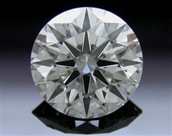 0.61 ct I SI1 A CUT ABOVE® Hearts and Arrows Super Ideal Round Cut Loose Diamond